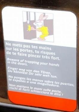 lapin, metro, paris