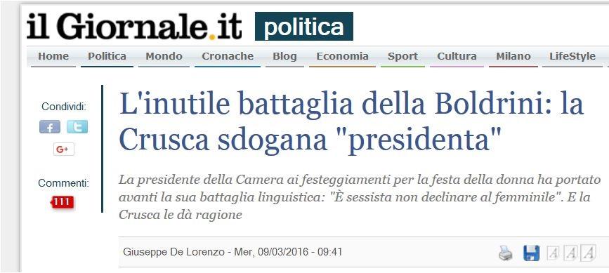 presidenta_giornale