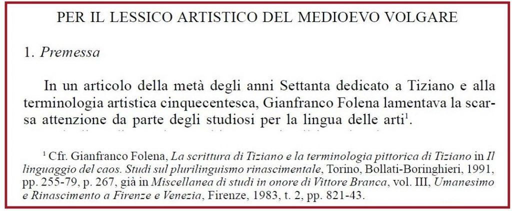 Ricotta-Lessico-artistico